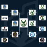 2019 NBA Playoffs Bracket Based on NBA Logo Ranking