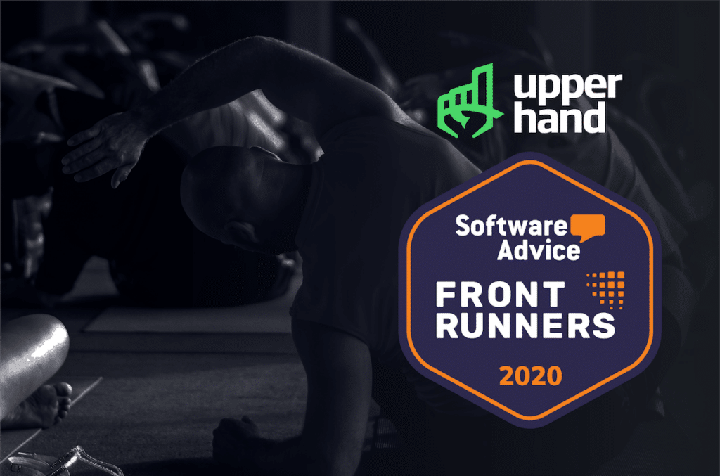 Software Advice Names Upper Hand 2020 FrontRunner for Yoga Studio Software