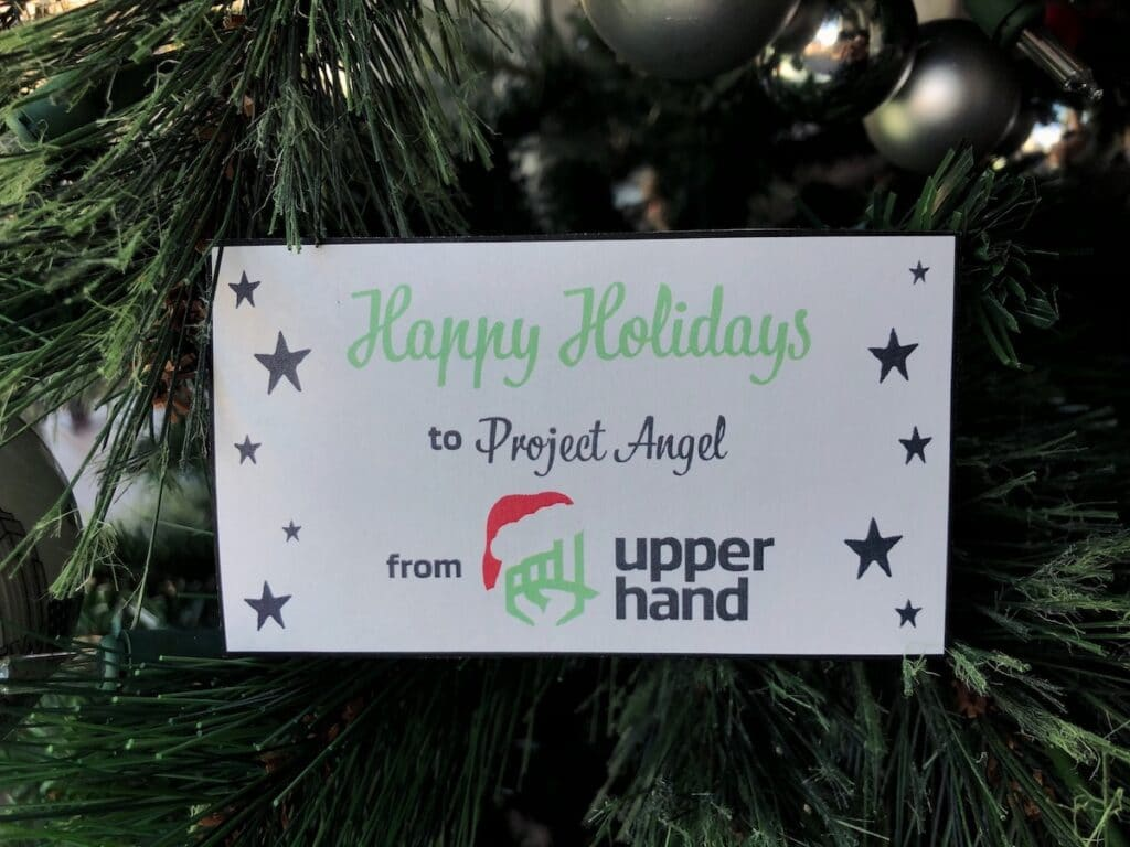 """Upper Hand Lends a """"Helping Hand"""" to Project A.N.G.E.L."""