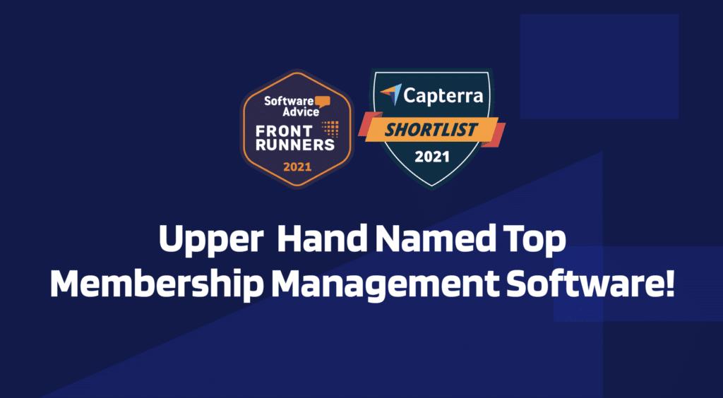 Upper Hand Named Most Popular Membership Management Software