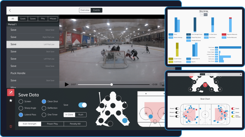 SRS Video Analysis for hockey goaltenders