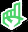 Upper Hand Sticker Logo - big